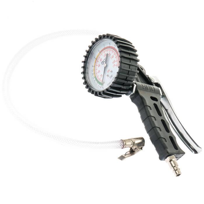 Druckluft Reifenfüller Reifenfüllpistole für Kompressor Reifenfüllgerät Pistole