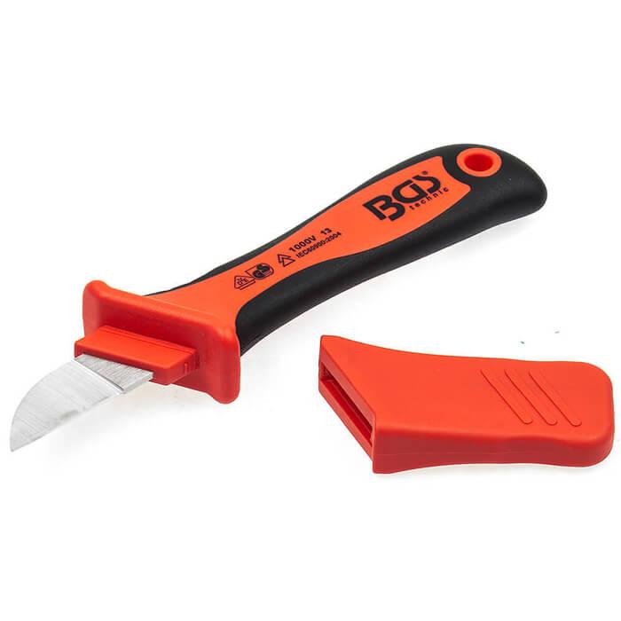 VDE-Kabelmesser mit Abrutsch-Schutz