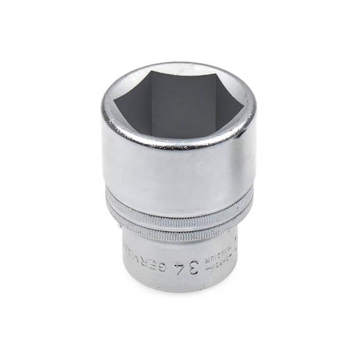 Hazet 1000-34 conexión para llave de vaso 3//4 pulgadas SW 34 mm hexagonal Steck nuez nuevo