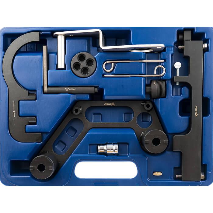 motor einstell werkzeug set steuerkette wechsel bmw n47 n57 e81 e90 e60 e84 e83 5902188475401 ebay. Black Bedroom Furniture Sets. Home Design Ideas