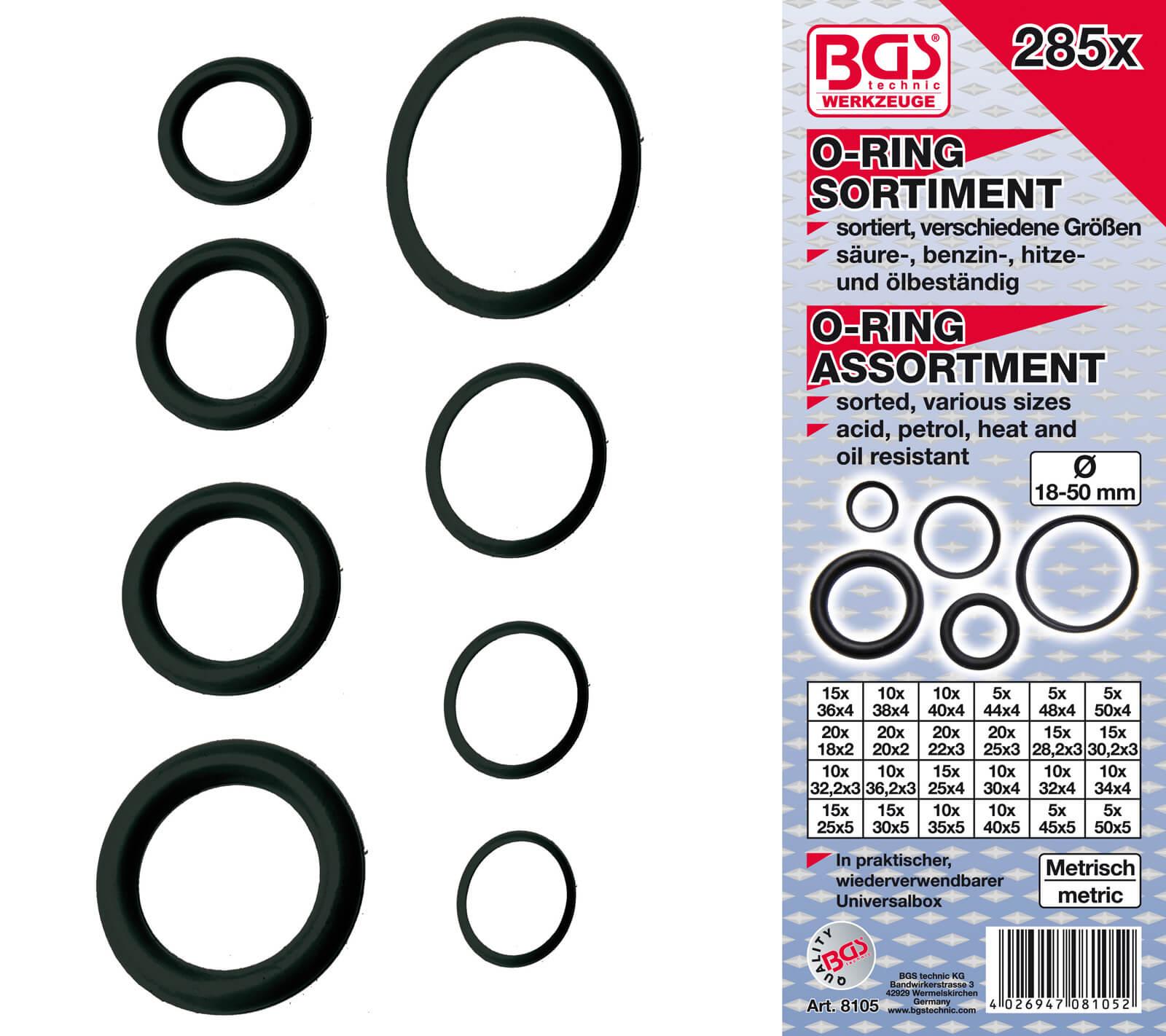 o ring set gummi dichtringe gummidichtungen satz dichtungsringe sortiment xxl ebay. Black Bedroom Furniture Sets. Home Design Ideas