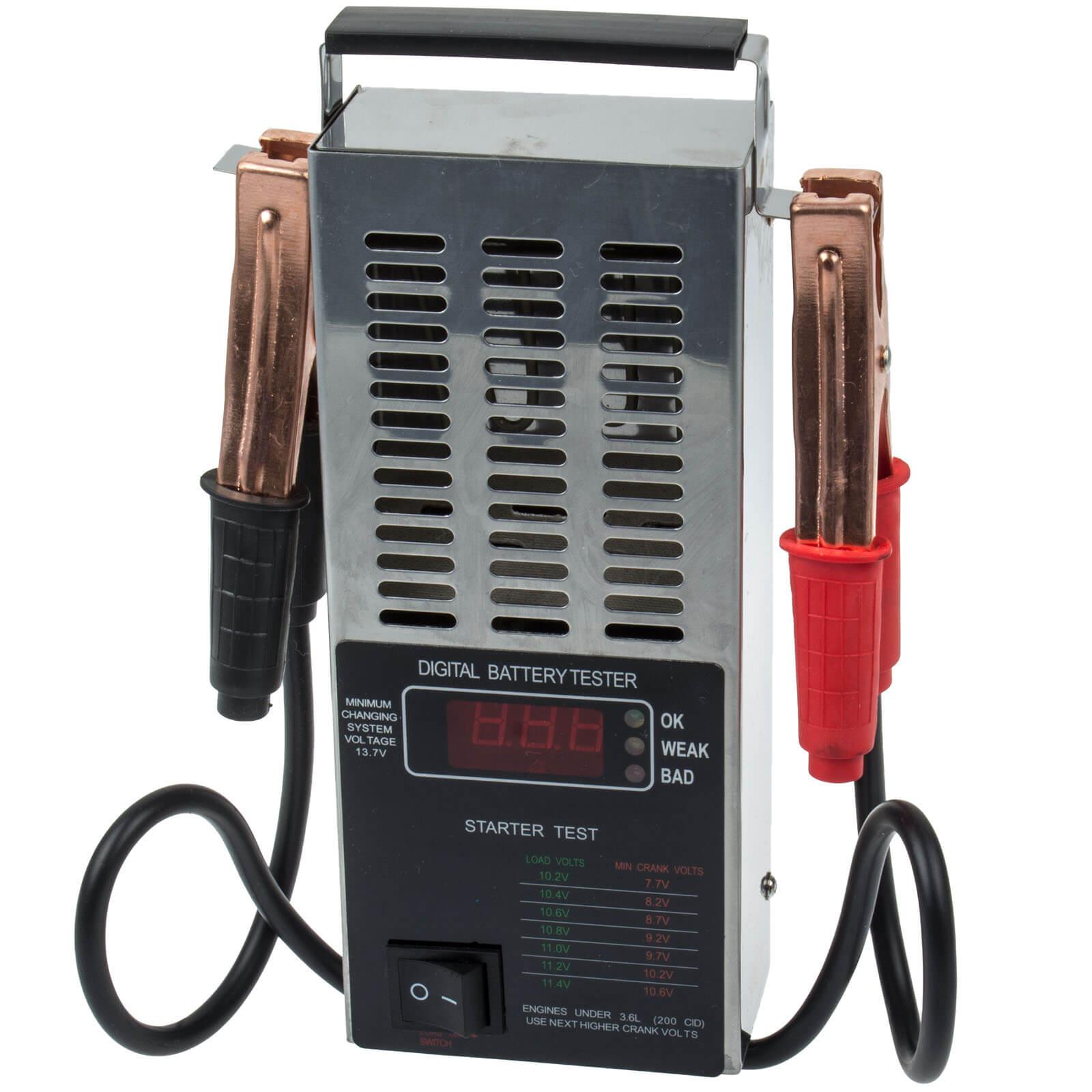 Battery Tester Digital 12V CAR VEHICLE Test Device