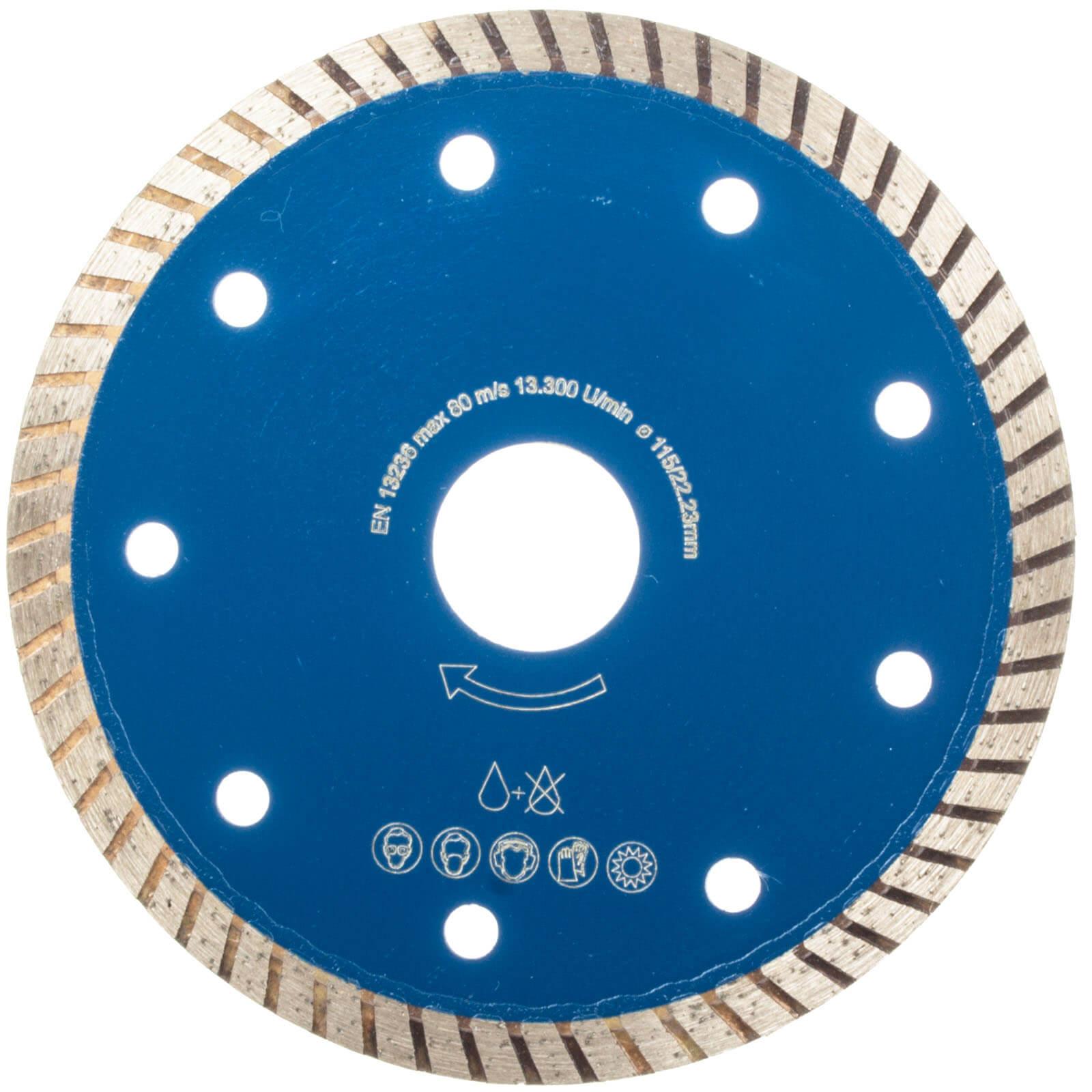 Diamante 115 disco taglio ceramica piastrelle fughe tagli - Disco taglio piastrelle ...