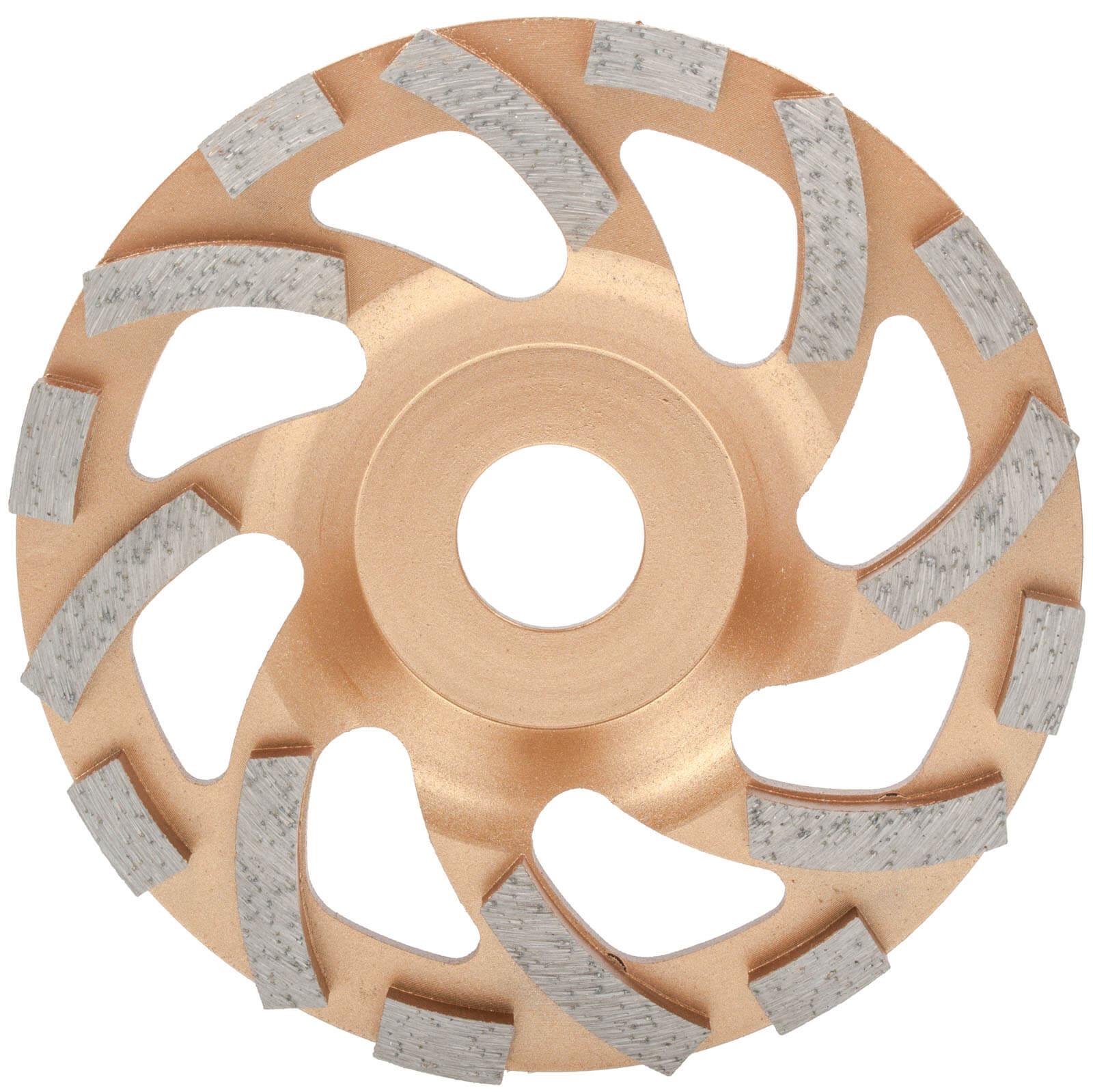 diamant schleifteller 125 fliesenkleber entfernen estrich beton schleiftopf ebay. Black Bedroom Furniture Sets. Home Design Ideas