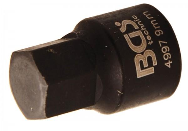 BGS 4997 Bremssattel-Innen-6-kant-Einsatz, extra kurz, 8 mm