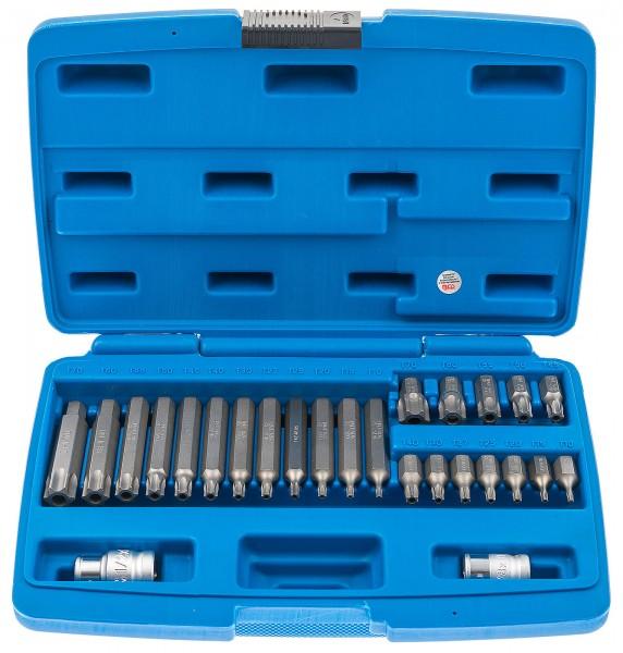 BGS 5022 T-Profil Bitsatz mit Bohrung 26-tlg.
