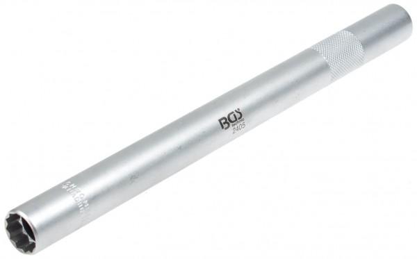 """BGS 2405 Zündkerzenschlüssel lang 16 mm Steckschlüssel 3/8"""""""