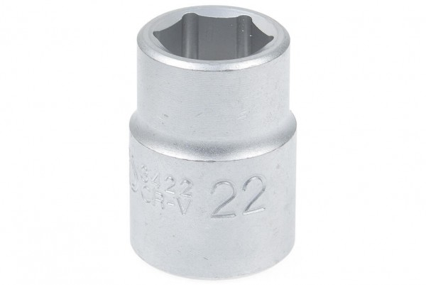 "BGS 3422 Steckschlüssel SW 22 mm 3/4"" Pro Torque®"