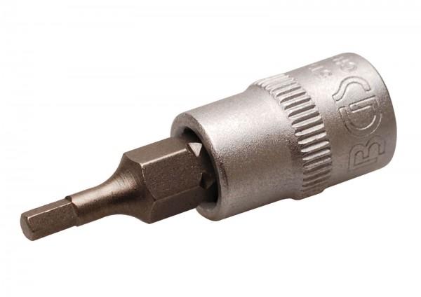 BGS 5154 Bit-Einsatz 6,3 (1/4), Innen-6-kant, 2,5 mm