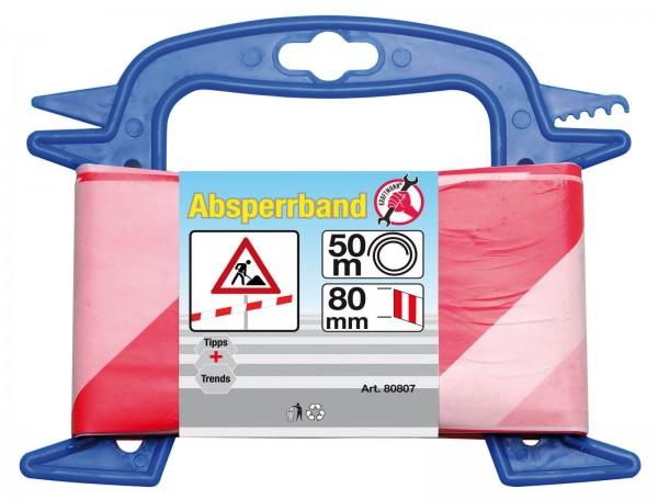 BGS 80807 Absperrband 50 m x 80 mm