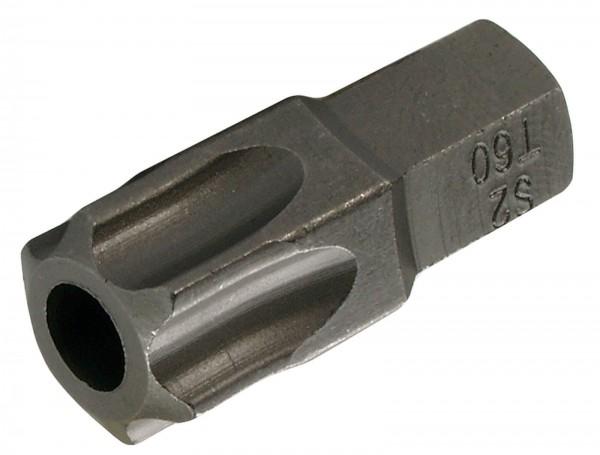 "BGS 4660 T-Profil-Bit, mit Bohrung, 30 mm lang, T60, 3/8"""
