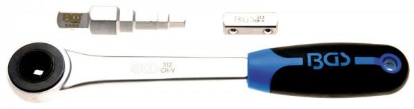 BGS 314 Durchsteckknarre mit Stufenschlüssel