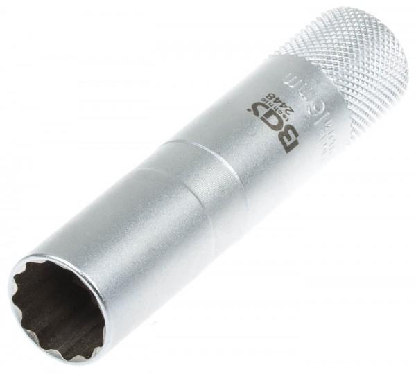 """BGS 2448 Zündkerzenschlüssel SW 16 mm Steckschlüssel 3/8"""""""