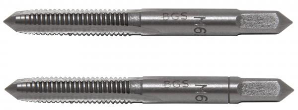BGS 1900-M6X1.0-B Gewindebohrer M6x1.0, Vor- & Fertigschneider, 2-tlg.