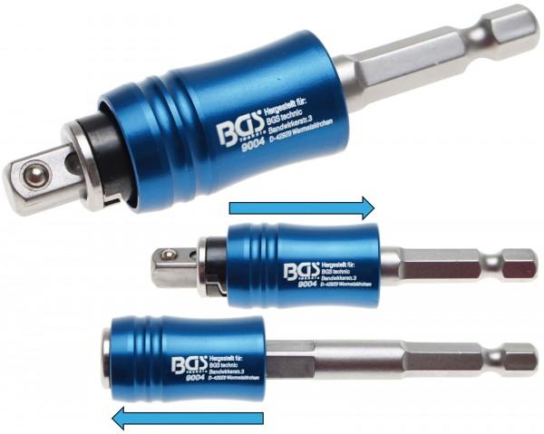 BGS 9004 2-in-1 Magnethalter für Bits und Steckschlüssel