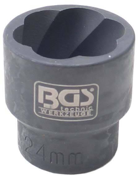 "BGS 5268-24 Schraubenausdreher SW 24 mm 1/2"" Antrieb"