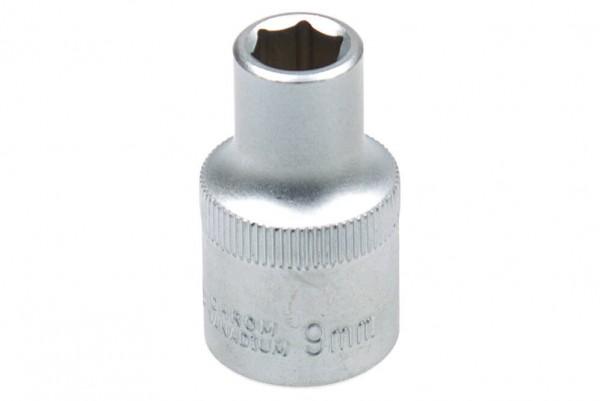 """BGS 2909 Steckschlüssel Einsatz SW 9 mm 1/2"""""""