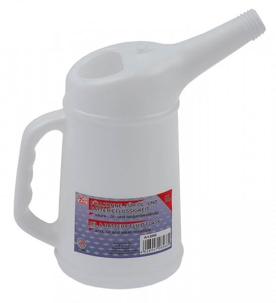 BGS 8568 Kfz Ölkanne Kunststoff 1 Liter