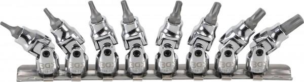 BGS 9158 Torx Steckschlüsseleinsätze mit Kardangelenk 8-tlg.