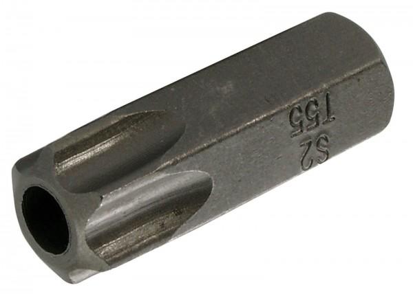 "BGS 4655 T-Profil-Bit, mit Bohrung, 30 mm lang, T55, 3/8"""