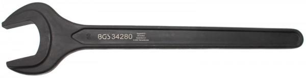 BGS 34280 Einmaulschlüssel, 80 mm