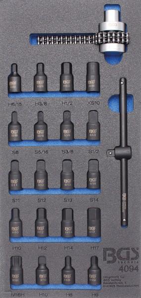 BGS 4094 1/3 Werkstattwageneinlage: Ölwannen Spezialeinsätze