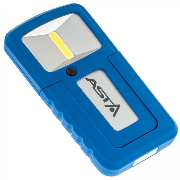 Asta A-G001 COB-LED Werkstatt Akku Handlampe