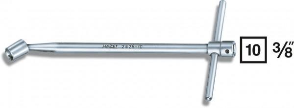 Hazet 2528-10 Ölwannen-Gelenk-Steckschlüssel s 10 Innenvierkant 10 mm 3/8 Zoll