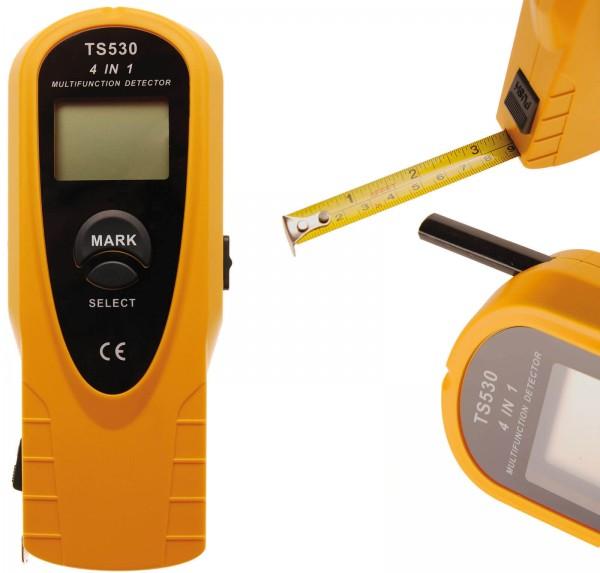 BGS 63527 4 in1 Digital Detektor, Holz, Metall, Spannung