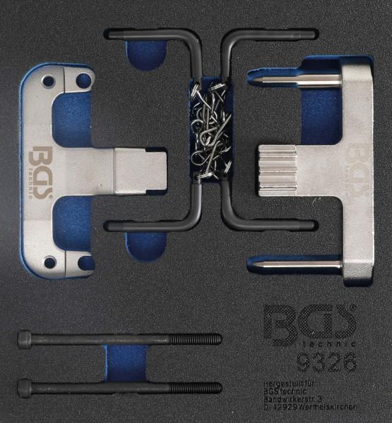 BGS 9326 Motor-Einstellwerkzeug-Satz für Mercedes / Chrysler