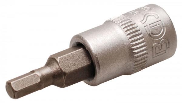 BGS 5155 Bit-Einsatz 6,3 (1/4), Innen-6-kant, 3,5 mm