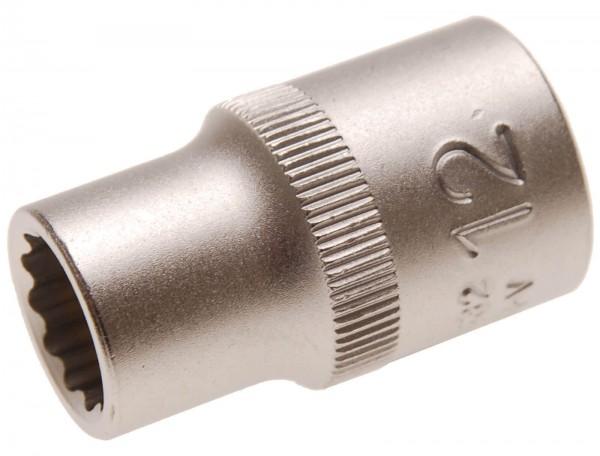 BGS 10632 Steckschlüssel-Einsatz 12-kant, 12,5 (1/2), 12 mm