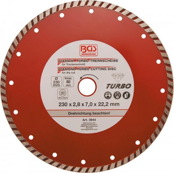 BGS 3944 Turbo-Trennscheibe, 230 mm