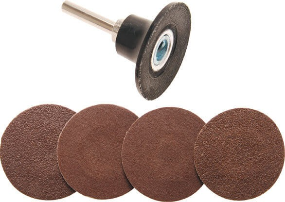 BGS 8590 Schleifscheiben Set mit 6.3 mm Schaft