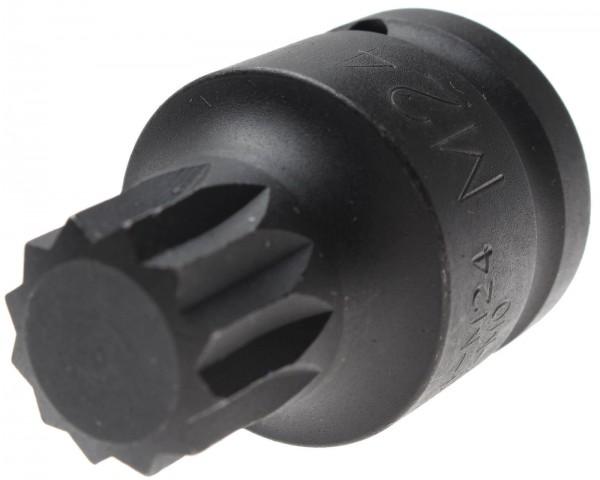 BGS 5054-M24 Innenvielzahn-Bit-Einsatz, 20 (3/4), M24