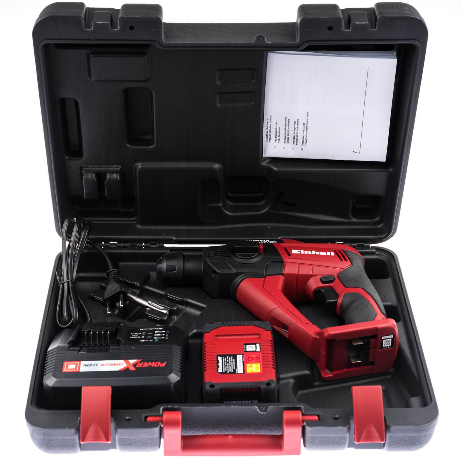 te-hd 18 li akku-bohrhammer und akku power x change | werkzeuge-berlin