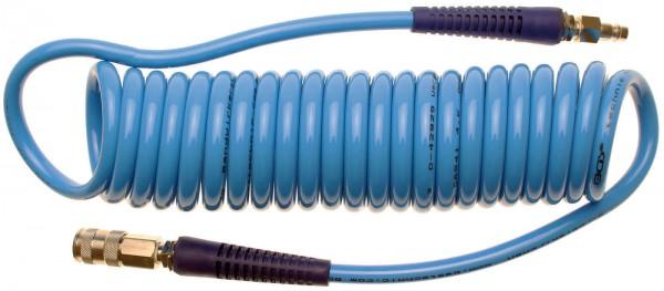 BGS 66541 Druckluft-Spiralschlauch, 6 Meter