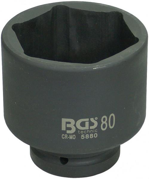 """BGS 5880 Steckschlüssel 80 mm für Schlagschrauber 1"""""""