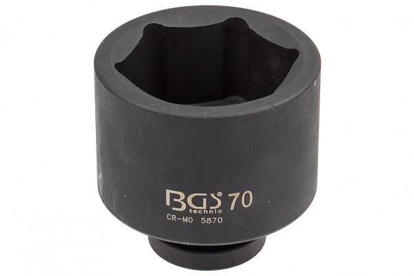 """BGS 5870 Steckschlüssel SW 70 mm für Schlagschrauber 1"""""""