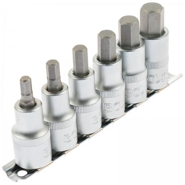 BGS 8887 Innensechskant Bit-Einsatz-Set 6-14 mm 6-tlg.