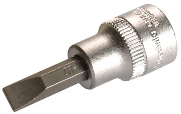 """BGS 2568 Bit-Einsatz, 3/8"""", Schlitz, 7 mm"""