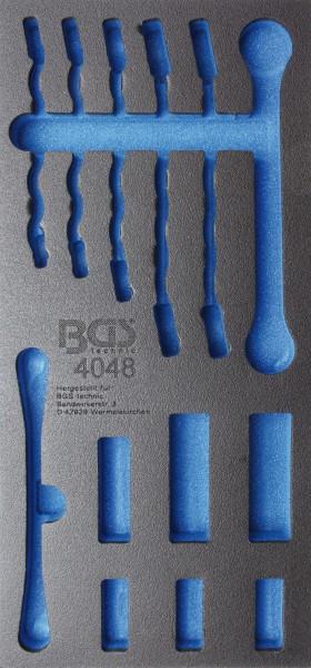 BGS 4048-1 1/3 WWE, leer für: Offene Ringschlüssel und 10 (3/8) Spezial-Einsätze