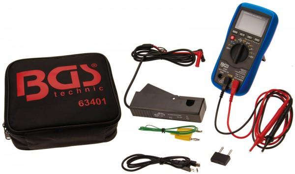 BGS 63401 KFZ Digital-Multimeter mit USB Schnittstelle