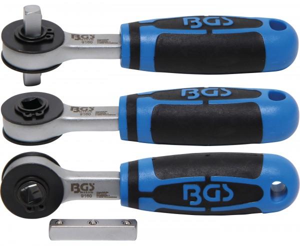 BGS 9160 Durchsteckknarre 6,3 (1/4) Innen-4-kant