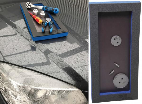 BGS 9275 1/3 Werkstattwagen-Einlage, Ablagefach mit magnetischer Bodenplatte