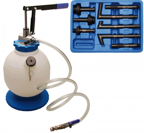 BGS 9992 Getriebeöl-Befüllgerät mit Handpumpe, 7 Liter