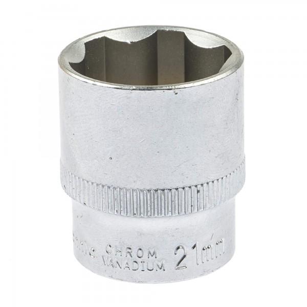 """BGS 2381 Steckschlüssel-Einsatz SW 21 mm 3/8"""" Super Lock"""