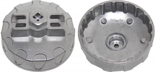 BGS 9163 Ölfilterkappe 96 mm x 18-kant für Renault DCI