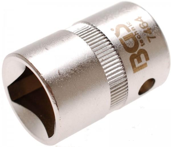BGS 7464 Dreikant-Einsatz für Pfostenschlösser, M12 (16,5 mm)