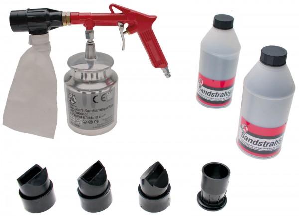 BGS 3650 Druckluft-Sandstrahlpistole mit Zubehör